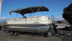 Used Tracker Party Barge 25Party Barge 25 Pontoon Boat For Sale