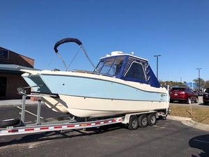 Used World Cat 270 SD270 SD Saltwater Fishing Boat For Sale