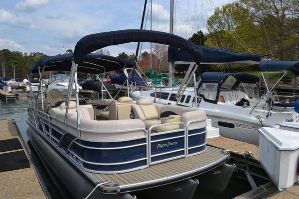 Used Godfrey Aqua Patio 250 WB Pontoon Boat For Sale