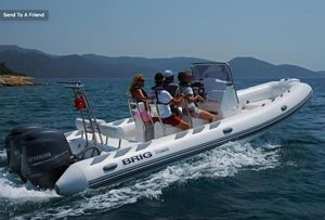 New Brig Inflatables Navigator Adventurer 730H IN Stock Rigid Sports Inflatable Boat For Sale
