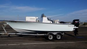 Used Seacraft 20 Master Angler Center Console Fishing Boat For Sale