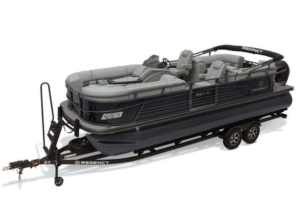 New Regency 230 LE3230 LE3 Pontoon Boat For Sale
