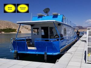 Used Masterfab House Boat For Sale