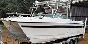 Used Glacier Bay Renegade 2640 Power Catamaran Boat For Sale