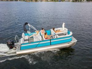 New Crest I 200 LI 200 L Pontoon Boat For Sale