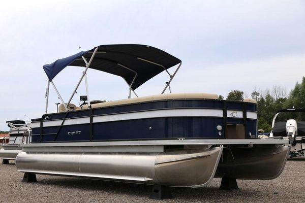 New Crest I Fish 220 SFI Fish 220 SF Pontoon Boat For Sale
