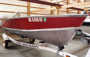 Used Lund c-14c-14 Freshwater Fishing Boat For Sale