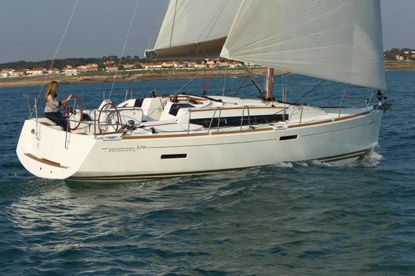New Jeanneau 379 Sun Odyssey Cruiser Sailboat For Sale