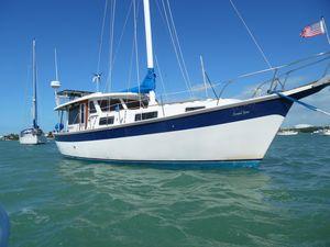 Used Schucker 436 Motorsailer Sailboat For Sale