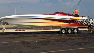 Used Black Thunder 460 EC460 EC High Performance Boat For Sale