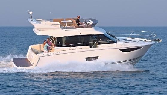 New Jeanneau Velasco 37F Flybridge Boat For Sale