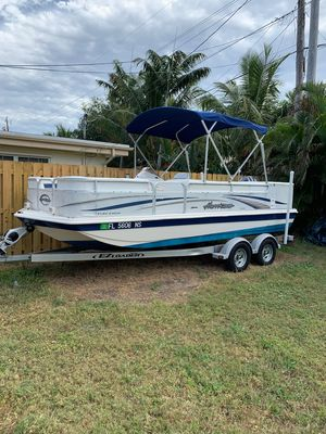 Used Hurricane FunDeck 196 RE-3 GateFunDeck 196 RE-3 Gate Deck Boat For Sale
