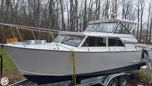 Used Marinette 28 Express Cruiser Boat For Sale