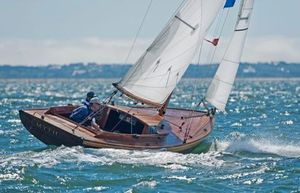 New Brooklin Boat Yard Alerion Class Sloop Daysailer Sailboat For Sale