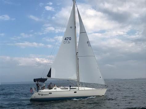 1997 Used Jeanneau Sun Odyssey 37 Cruiser Sailboat For Sale