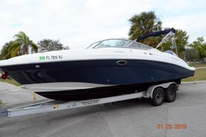 Used Hurricane 2690 OB2690 OB Deck Boat For Sale