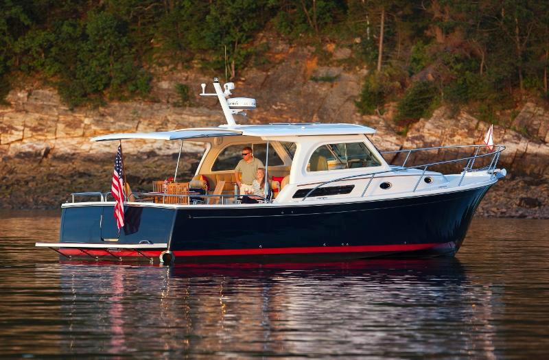 New Back Cove Downeast 37 Downeast Fishing Boat For Sale