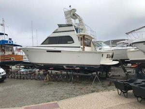 Used Egg Harbor 37 Convertible Flybridge Boat For Sale