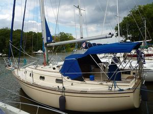 Used Island Packet 29 Cutter Sailboat For Sale