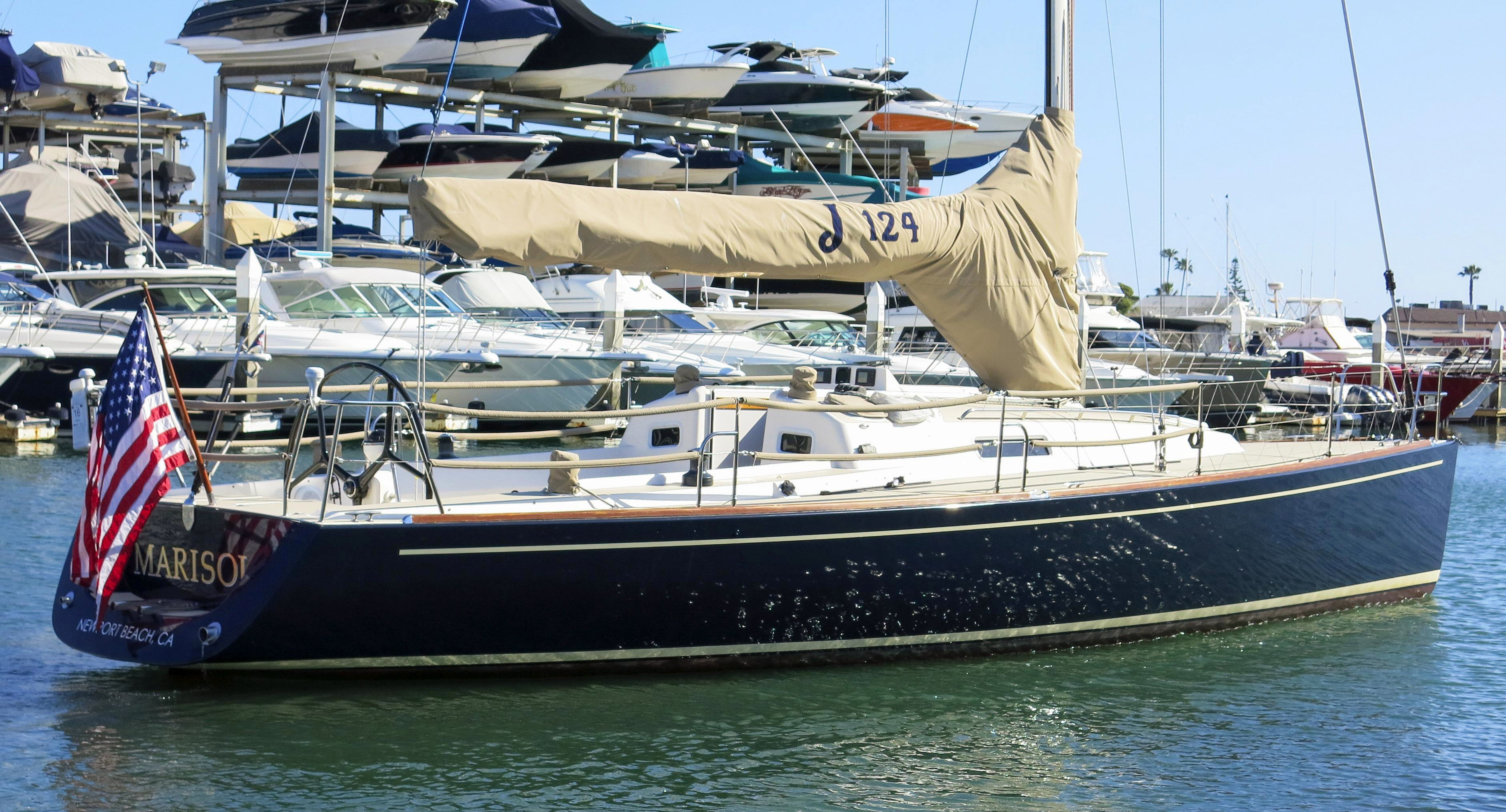 Used J Boats J124 J124 J 124 Racer and Cruiser Sailboat For Sale