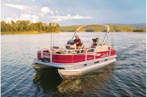 New Sun Tracker Bass Buggy 18 w/ Mercury 75ELPT 4SBass Buggy 18 w/ Mercury 75ELPT 4S Pontoon Boat For Sale