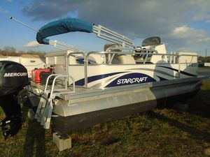 Used Starcraft Classic 180 REClassic 180 RE Pontoon Boat For Sale