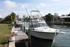 Used Rampage 31 Sportfisherman Flybridge Boat For Sale