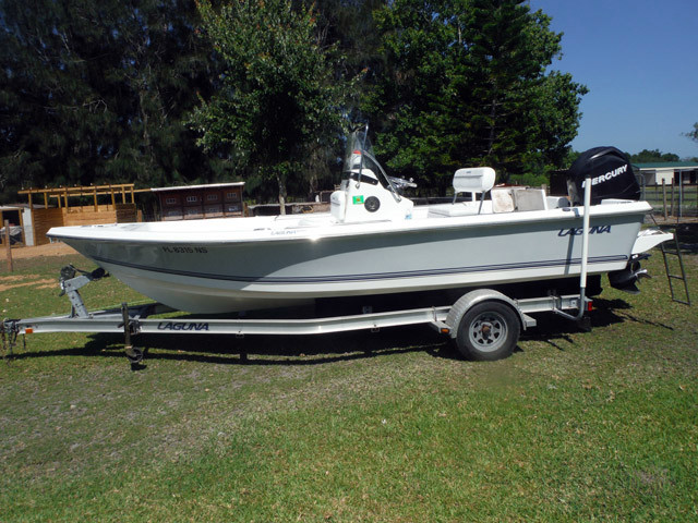 Used Sea Ray Laguna Center Console Fishing Boat For Sale