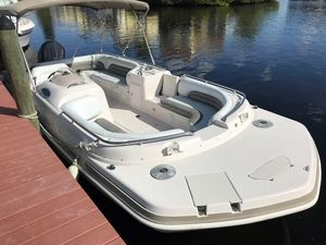 Used Hurricane Fundeck 232 Bowrider Boat For Sale