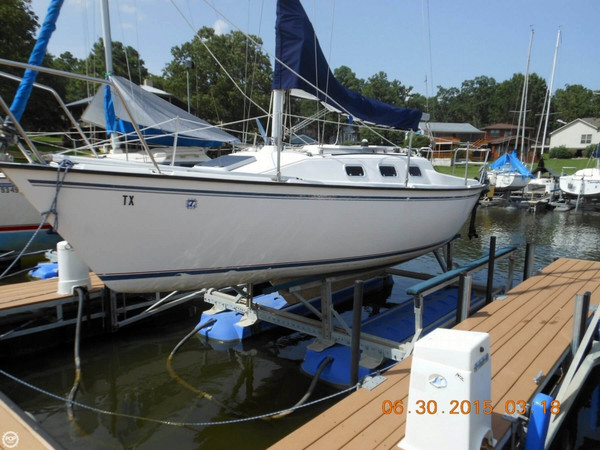 Used Precision Boat Works 23 Sloop Sailboat For Sale