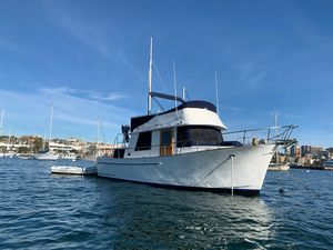 Used Chb 34 Aft Cabin Trawler Boat For Sale