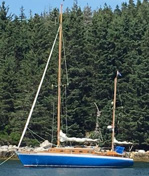 Used Classic 36 Controversy 36 C/C Yawl Sailboat For Sale