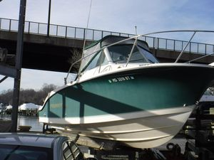 Used Trophy 2502 Walkaround Cruiser Boat For Sale