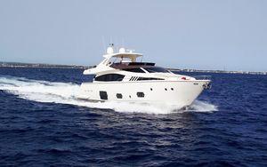 Used Ferretti Yachts F800 Flybridge Boat For Sale
