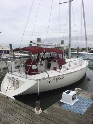 Used Canadian Sailcraft CS 34 Sloop Sailboat For Sale