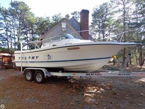 Used Bayliner 20 Trophy Walkaround Fishing Boat For Sale