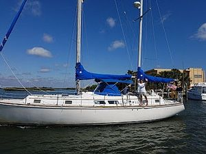 Used Gulfstar 43 MK II Center Cockpit Ketch Sailboat For Sale