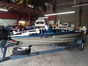 Used Ebbtide Dyna-trak 162 Saltwater Fishing Boat For Sale