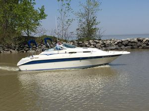 Used Sea Ray 250 Express Cruiser Big Motor Express Cruiser Boat For Sale
