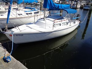 Used Catalina Pop Top Sloop Sailboat For Sale