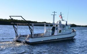 Used Custom-Craft Dive/ Survey Vessel Commercial Boat For Sale