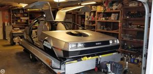 Used Delorean Hovercraft 14 Cruiser Boat For Sale