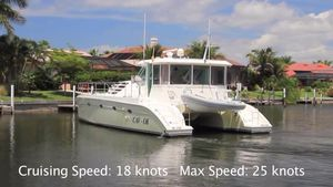 Used Manta 44 Powercat Power Catamaran Boat For Sale