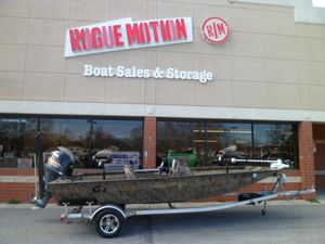Used G3 Sportsman 18 Camo Freshwater Fishing Boat For Sale