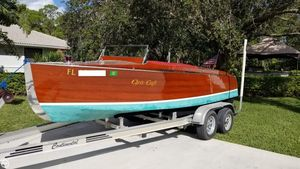 Used Chris-Craft Model 100 Triple Cockpit Runabout Antique and Classic Boat For Sale