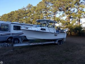 Used Parker Marine 25 Walkaround Fishing Boat For Sale