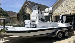 Used Shallow Sport Classic 24 Flats Fishing Boat For Sale