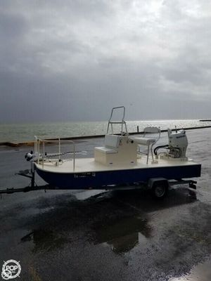 Used Custom 18 Aluminum Fishing Boat For Sale