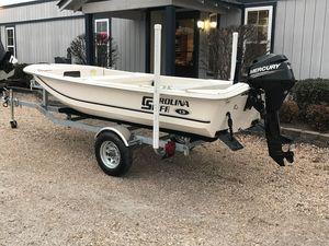 Used Carolina Skiff JV13JV13 Saltwater Fishing Boat For Sale