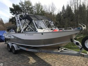 Used Hewescraft 210 Sea Runner ET Aluminum Fishing Boat For Sale